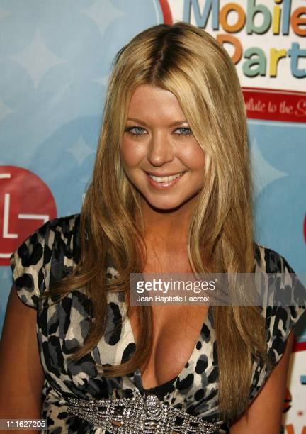 Tara Reid during LG Mobile Phones Presents 'Mobile TV Party' To Celebrate The Launch of LG VX9400 Arrivals at Paramount Studios/Stage 14 in Los...