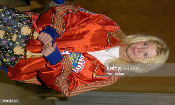 Tara Reid during Mitchell Moss NBA All Star Game After Party at Skybar at the Mondrian Hotel in West Hollywood California United States