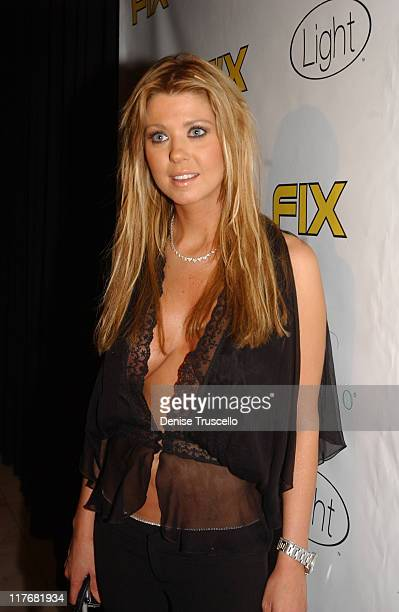 Tara Reid during Opening Celebration at FIX Restaurant and Bar at the Bellagio Hotel and Casino Resort in Las Vegas at Fix Restaurant and Bar at the...