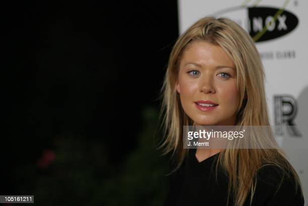 Tara Reid during Opening of the Los Angeles Equinox Fitness Club at Equinox Fitness Club in Hollywood California United States