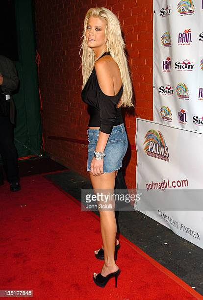 Tara Reid during Palms Hotel Casino Holds Casting Call Party for Palms' Girl Competition at XES in Hollywood California United States