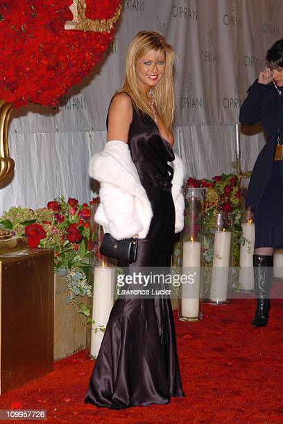 Tara Reid during Royal Birthday Ball for Sean P Diddy Combs at Cipriani Wall Street in New York City New York United States