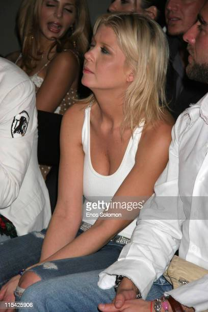 Tara Reid during Sony Ericcson and Cingular Wireless Present 2 B Free Fall 2006 Collection Front Row and Fashion Show at Regent Beverly Wilshire in...