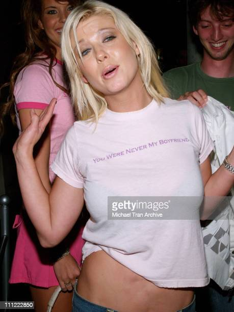 Tara Reid during Tara Reid at Bella in Hollywood August 16 2006 at Hollywood in Hollywood California United States