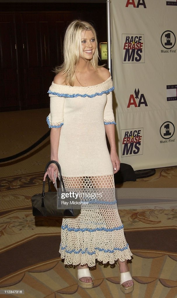Tara Reid during The 9th Annual Race to Erase MS Co-Chaired by Nancy Davis & Tommy Hilfiger - Fashion Show at The Century Plaza Hotel in Century City, California, United States.
