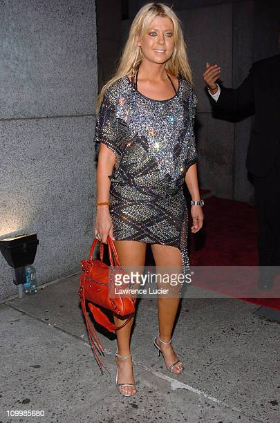 Tara Reid during The Cipriani Wall Street Concert Series Presents Marc Anthony September 15 2005 at Ciprianis Downtown in New York City New York...