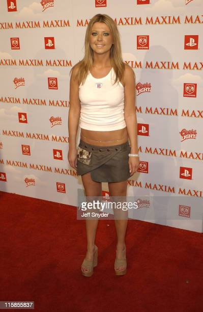 Tara Reid during The Maxim Party at Super Bowl XXXVII at The Old Wonderbread Factory in San Diego CA