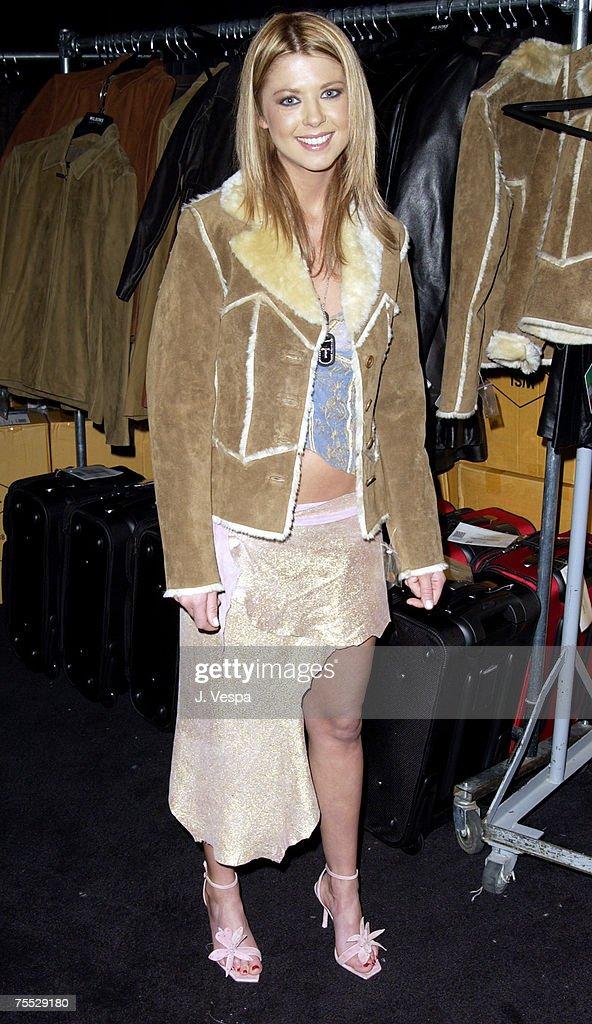 Tara Reid in Wilson's Leather coat at the MGM Grand Hotel in Las Vegas, Nevada