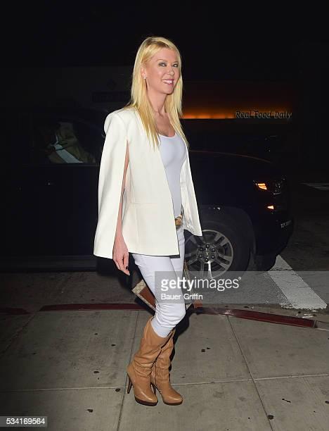 Tara Reid is seen on May 25 2016 in Los Angeles California