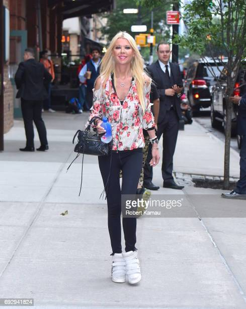 Tara Reid seen out walking in Manhattan on June 5 2017 in New York City