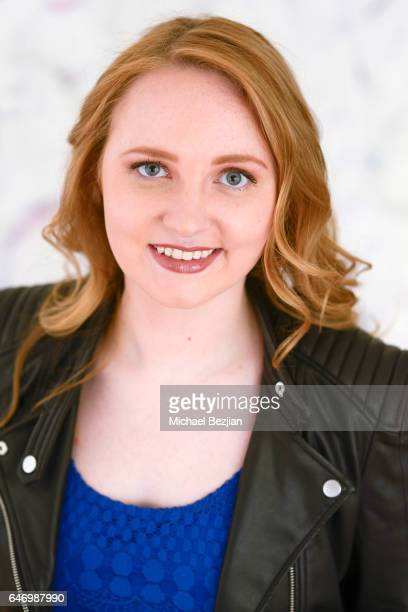 Tara Roberts poses for portraits at New Faces at the Artists Project on March 1, 2017 in Los Angeles, California.