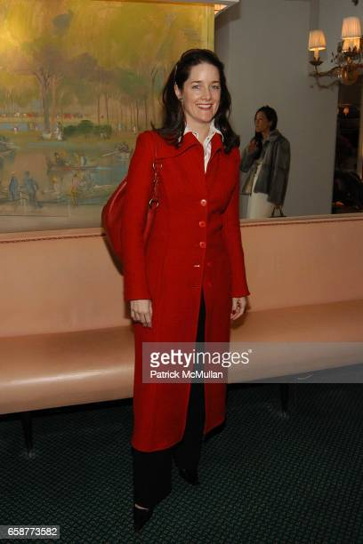 Tara Rockefeller attends Andre Leon Talley and Robert Burke host at La Caravelle for Loulou de la Falaise Collection on February 12 2004