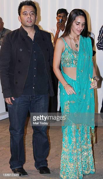 Tara Sharma At Boman Irani Sons Wedding Reception In Mumbai On Sunday