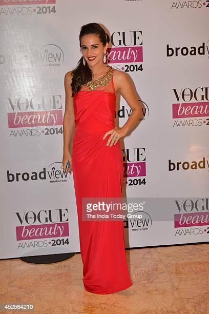 Tara Sharma at Vogue Beauty Awards in Mumbai