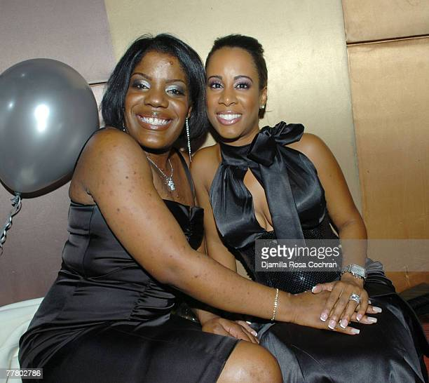 Tara Shropshire and Cynthia Shropshire attend Adonis Birthday Party at Lotus on November 7 2007 in New York City New York