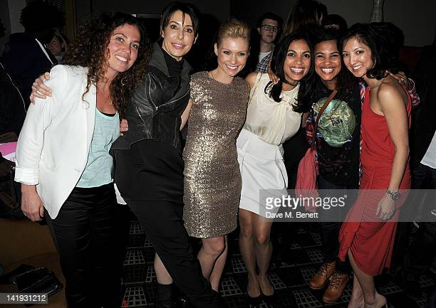 Tara Smith Lauren Prakke MyAnna Buring Rosario Dawson Neneh Cherry and Michelle Yue attend an after party for 'A Memory A Monologue A Rant And A...