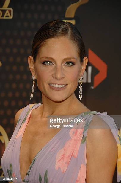"""Tara Spencer-Nairn from the TV Series """"Corner Gas"""" attends The 22nd Annual Gemini Awards at the Conexus Arts Centre on October 28, 2007 in Regina,..."""
