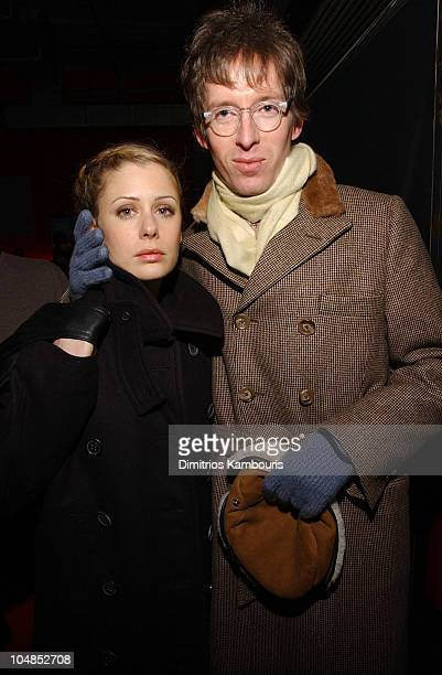 Tara Subkoff and Wes Anderson during Spun Premiere New York AfterParty at Lot 61 in New York City New York United States
