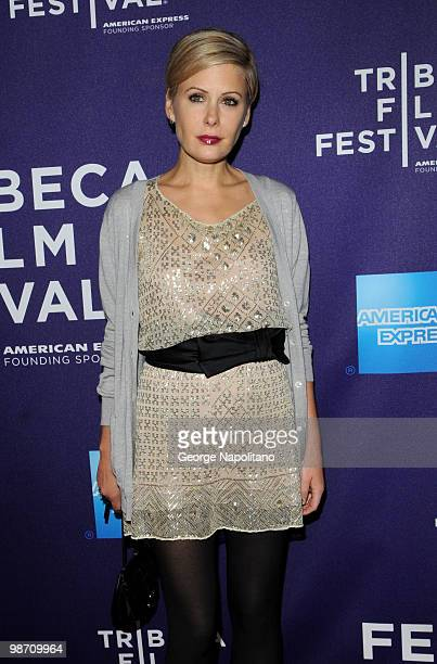 """Tara Subkoff attends the """"The Killer Inside Me"""" premiere during the 9th Annual Tribeca Film Festival at the SVA Theater on April 27, 2010 in New York..."""
