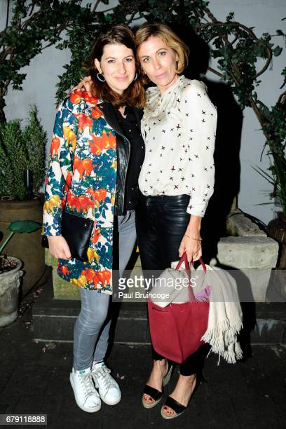 Tara Summers and Sonya Walger attend The Cinema Society BNY Mellon host the after party for Sony Pictures Classics' Paris Can Wait at Laduree Soho on...