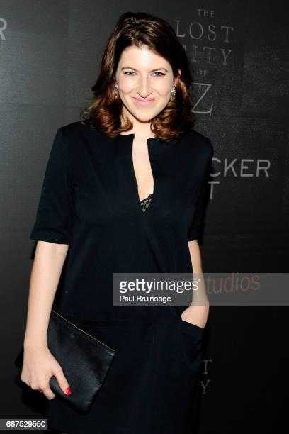 Tara Summers attends Amazon Studios Bleecker Street Host a Screening of 'The Lost City of Z' at SAGAFTRA on April 11 2017 in New York City
