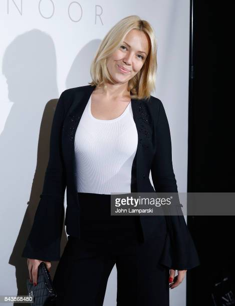Tara Swennen attends Noon By Noor September 2017 New York Fashion Week The Shows at Gallery 3 Skylight Clarkson Sq on September 7 2017 in New York...