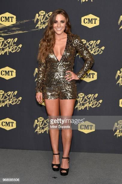 Tara Thompson attends the 2018 CMT Music Awards at Bridgestone Arena on June 6 2018 in Nashville Tennessee