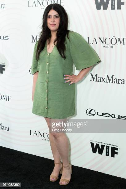 Tara Touzie attends Women In Film 2018 Crystal Lucy Award at The Beverly Hilton Hotel on June 13 2018 in Beverly Hills California
