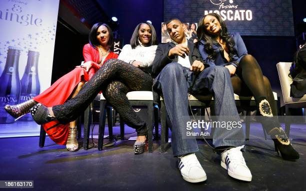Tara Wallace Yandy Smith Rich Dollaz and Tahiry appear at the VH1 Love Hip Hop Season 4 Premiere at Stage 48 on October 28 2013 in New York City