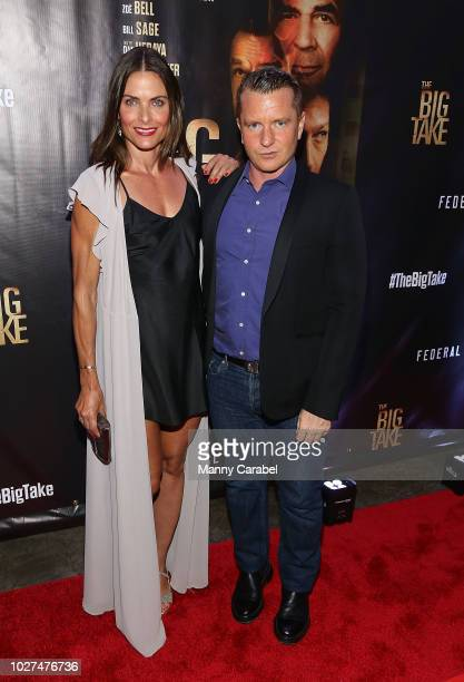 Tara Westwood and Justin Daly attend the World Premiere of The Big Take at Metrograph on September 5 2018 in New York City