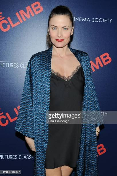 Tara Westwood attends Sony Pictures Classics And The Cinema Society Host A Special Screening Of The Climb at iPic Theater on March 12 2020 in New...