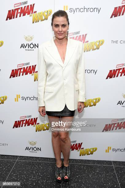 Tara Westwood attends the AntMan And The Wasp New York Screening at Museum of Modern Art on June 27 2018 in New York City