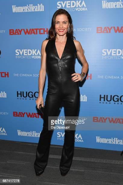 Tara Westwood attends The Cinema Society's Screening Of Baywatch at Landmark Sunshine Cinema on May 22 2017 in New York City