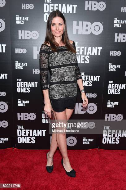 Tara Westwood attends The Defiant Ones premiere at Time Warner Center on June 27 2017 in New York City