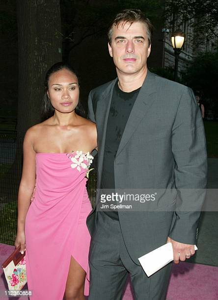 Tara Wilson Chris Noth during HBO's 'Sex and the City' Fifth Season World Premiere at American Museum of Natural History in New York City New York...