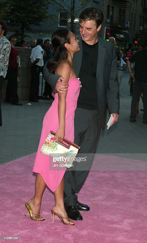 Tara Wilson & Chris Noth during HBO's 'Sex and the City' - Fifth Season World Premiere at American Museum of Natural History in New York City, New York, United States.
