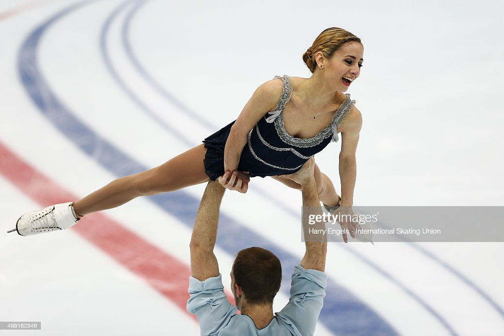Rostelecom Cup ISU Grand Prix of Figure Skating 2015 - Day Two