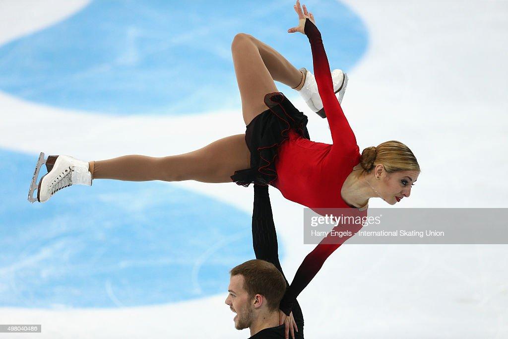 Rostelecom Cup ISU Grand Prix of Figure Skating 2015 - Day One