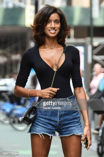 Tarah Rodgers attends the casting for the 2018 Victoria's Secret Show in Midtown on September 5 2018 in New York City