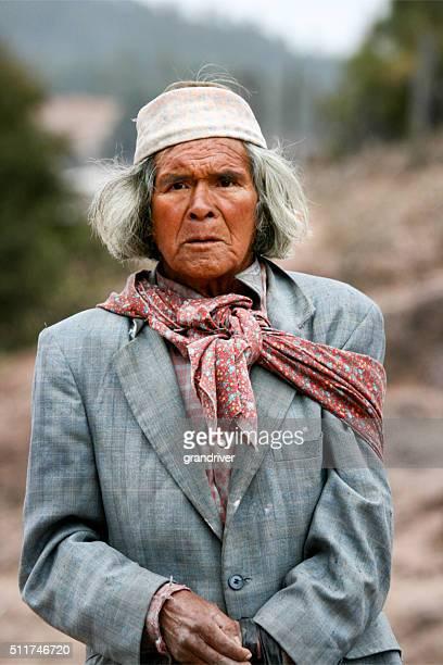 Culture Tarahumara Indien Tribal Aîné