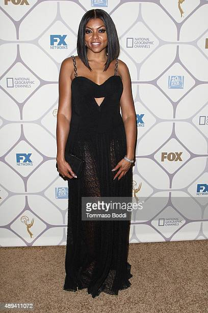 Taraji Henson attends the 67th Primetime Emmy Awards Fox after party on September 20 2015 in Los Angeles California