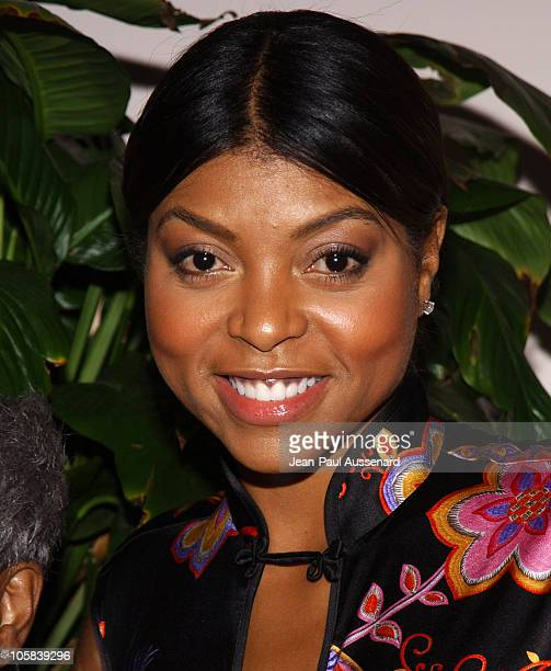 Taraji Henson during 6th Annual Lupus Gala Arrivals at Beverly Hills Hotel in Beverly Hills California United States