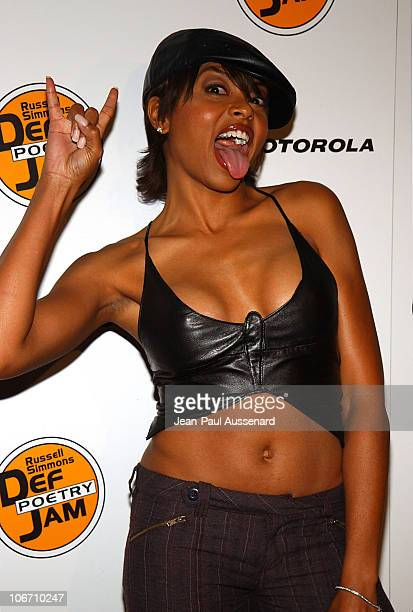 Taraji Henson during Russell Simmons and Stan Nathan Host Def Poetry Jam Los Angeles Kick Off For 32 City Tour Arrivals at Wadsworth Theater in...