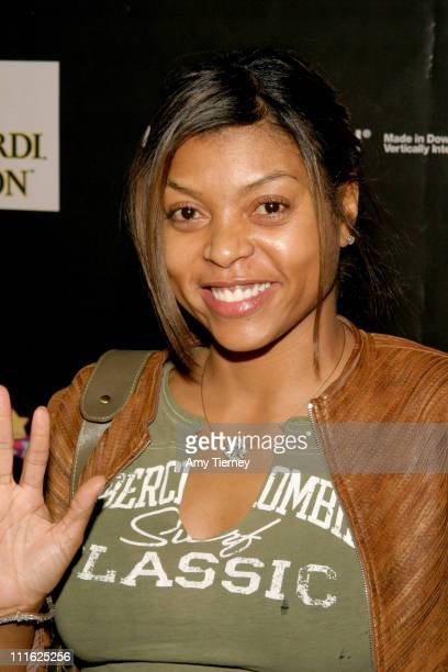 Taraji Henson during The Third Annual Roots Jam Session at Keyclub in Los Angeles California United States