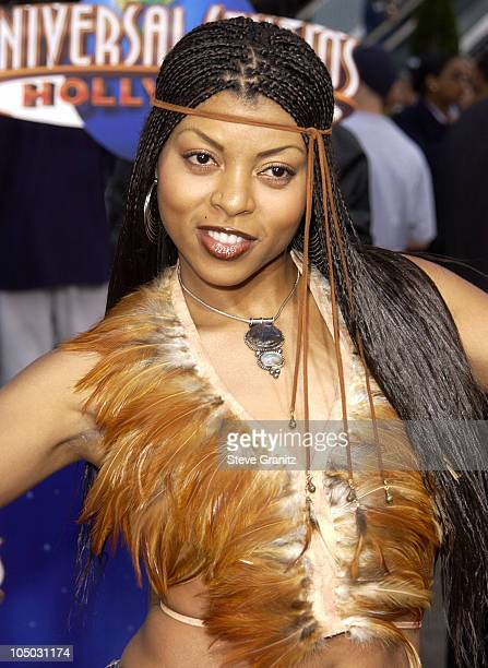 Taraji Henson during 'Undercover Brother' Premiere at Universal Citywalk in Universal City California United States