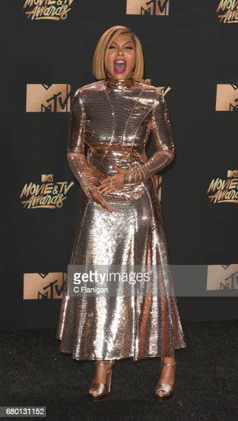 Taraji P Henderson attends the 2017 MTV Movie And TV Awards on May 7 2017 in Los Angeles California