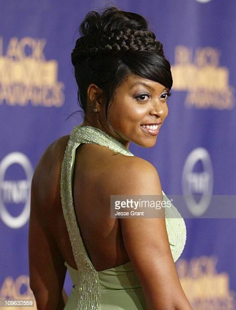 Taraji P. Henson 12556_JG_0405.jpg during 2006 TNT Black Movie Awards - Arrivals at Wiltern Theatre in Los Angelses, California, United States.