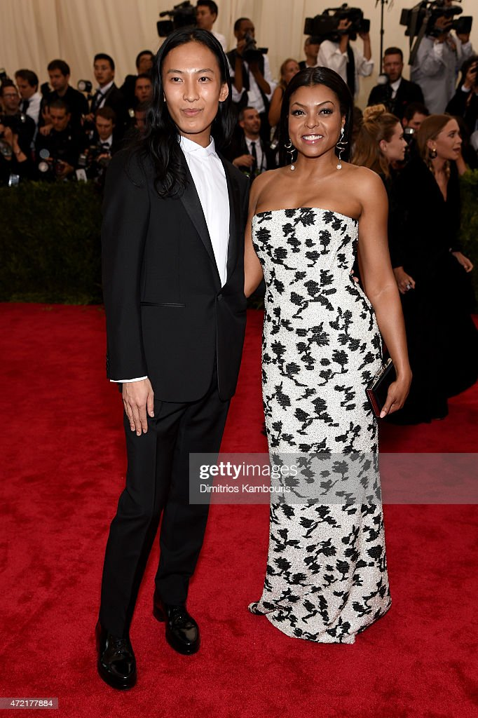 Taraji P. Henson (L) and Alexander Wang attend the 'China: Through The Looking Glass' Costume Institute Benefit Gala at the Metropolitan Museum of Art on May 4, 2015 in New York City.