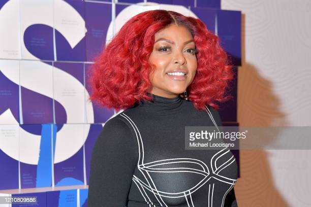 Taraji P. Henson and American Express Launch #ExpressThanks Pop Up Cafe at Grand Central Station on March 06, 2020 in New York City.