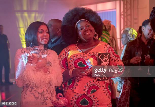 Taraji P Henson and Gabourey Sidibe in the 'FAIR TERMS' episode of EMPIRE airing Wednesday May 9 on FOX